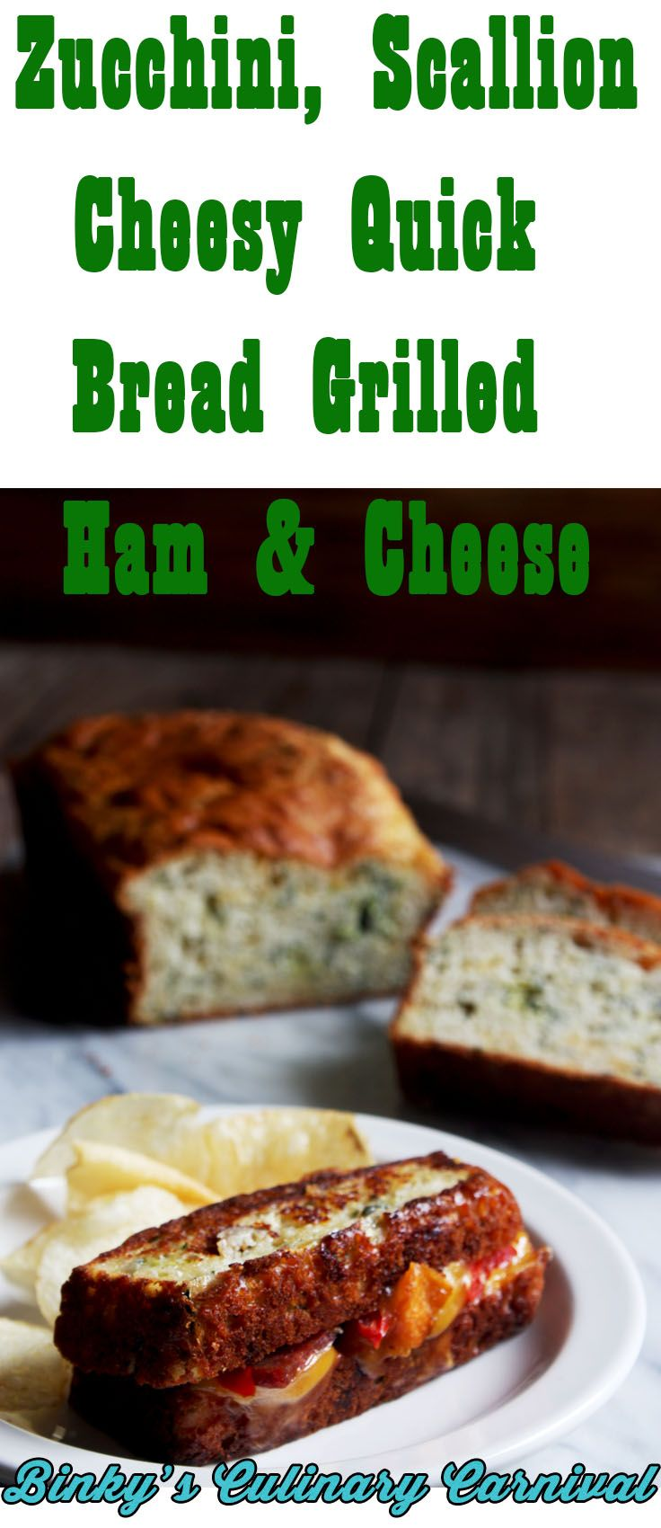 Zucchini, Green Onion Cheesy Quick Bread This Zucchini, Green Onion Cheesy Quick Bread couldn't be any easier! I skipped a step by using Bisquick, (or your favorite... Read more »