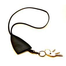 BLACK BELL - Leather Key Holder $42.00