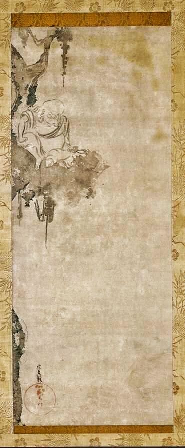 The Zen Priest Choka | Cleveland Museum of Art. 1600-1640 Tawaraya Sotatsu (Japanese, died c. 1640)