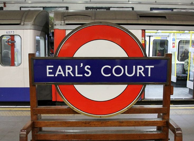 Earl's Court London Underground Station in London, Greater London