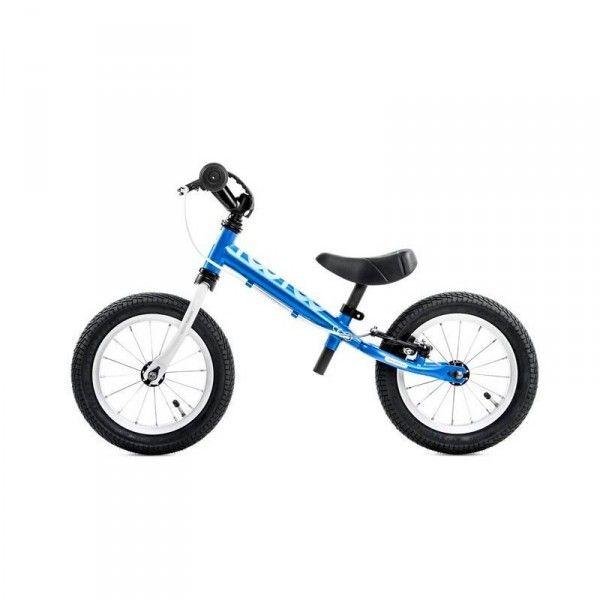 €100 max zadelhoogte 43cm. Yedoo Too Too 1 trainingbike blue white