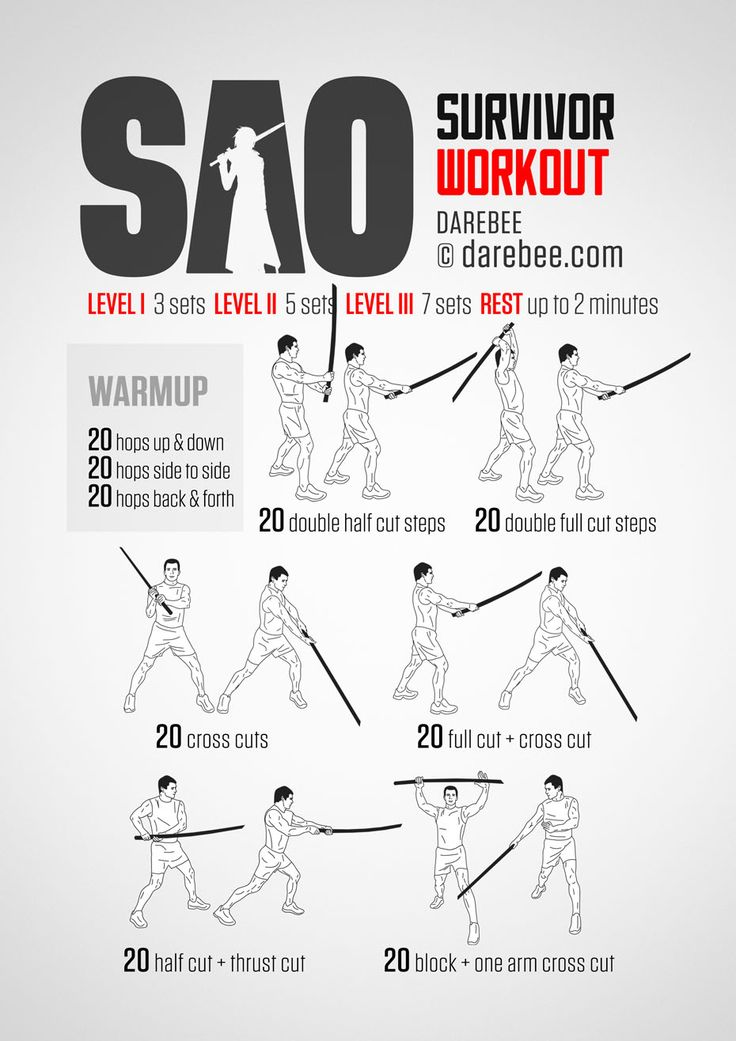 SAO Survivor Workout