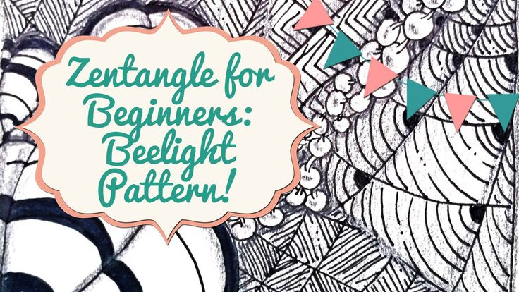Hey guys! Welcome back to our Zentangle for Beginners series! In this video we're adding the final pattern to our current zentangle art work in progress. We'...