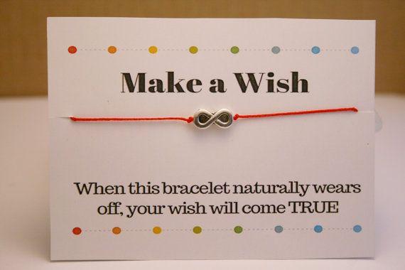 Infinity Bracelet, Make a Wish Infinity Bracelet, Friendship Bracelet, Best Frinend's Bracelet, Red String Bracelet, Tibetan Silver Infinity