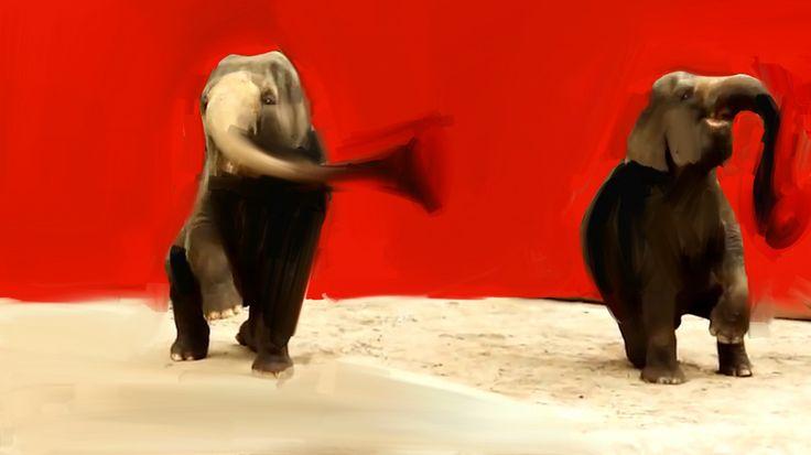 Il Teatro Comunale di Carpi ospita il travolgente concerto dei C'mon Tigre in cui la musica fa da colonna sonora alle animazioni digitali di Gianluigi Toccafondo, dando vita ad uno show poetico e ricco di contaminazioni. In foto uno dei disegni di Toccafondo. #VIEFestival2016 #emiliaromagnateatro #cmontigre #toccafondo #modena #bologna #carpi #vignola #music #musica #sound #concert #paint #draw
