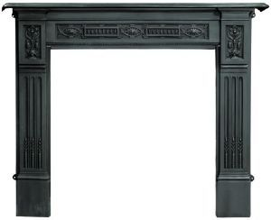 Black Fireplace Surround | Home > Fireplace Surrounds > Cast Iron Fire Surrounds