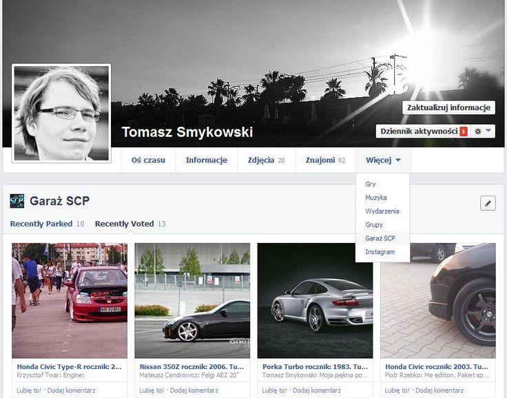 Aplikacja konkursowa, fotograficzna na Facebook u na SCP została w pełni zintegrowana z Open Graph, włącznie z kolekcjami. Oznacza to, że uczestnik i jego znajomi mogą zobaczyć  ulubione samochody, na które zagłosował, na specjalnej zakładce na profilu uczestnika na Facebooku. Na zdjęciu przykład takiej galerii.