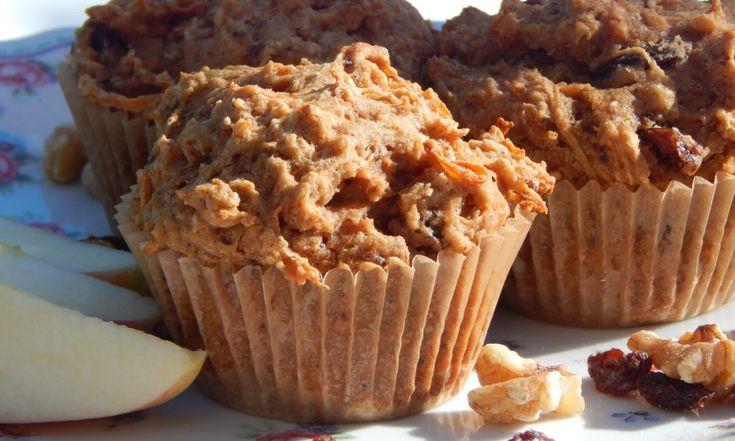 Apple Carrot Walnut Muffins | Anita's Organic Mill