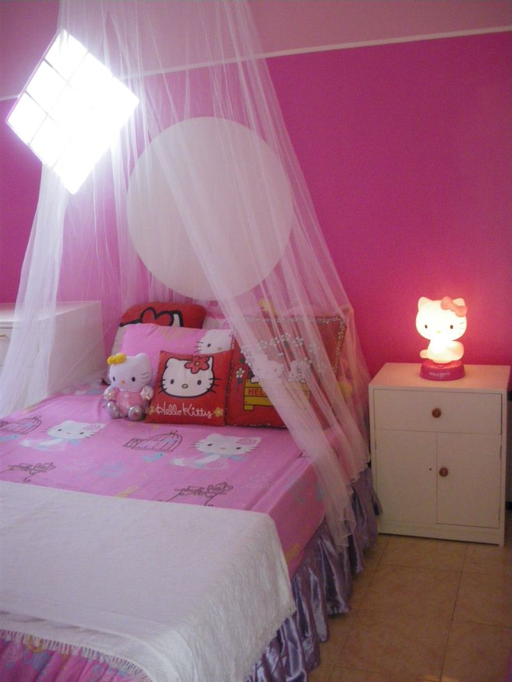 17 best images about hello kitty bedroom for mariel on. Black Bedroom Furniture Sets. Home Design Ideas
