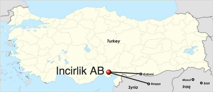 Turkey Incirlik Air Base Map