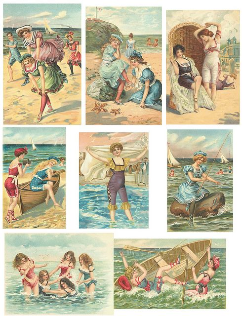 Beach 2 | Inspire ♥ Digital : Printable | Pinterest | Vintage, Collage and Collage sheet