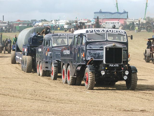 Scammells - Pickfords heavy haulage