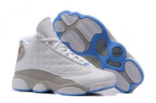 79c6b36be1e5 New Arrival Air Jordan 13 Retro White Neutral Grey-University -  Mysecretshoes