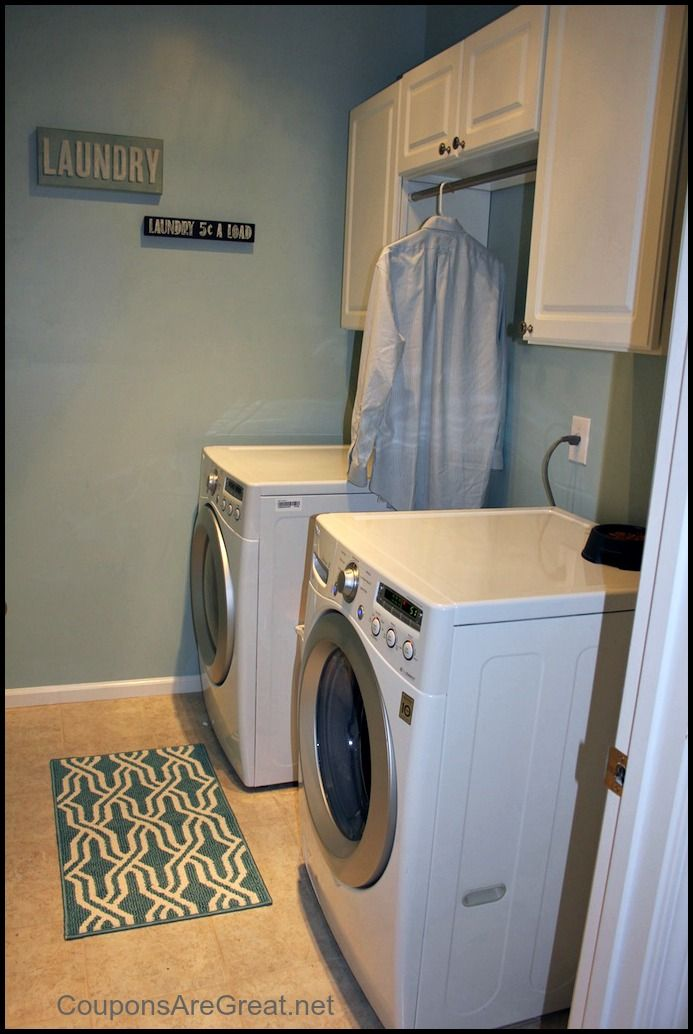 26 best wash room images on pinterest for Laundry room renovation