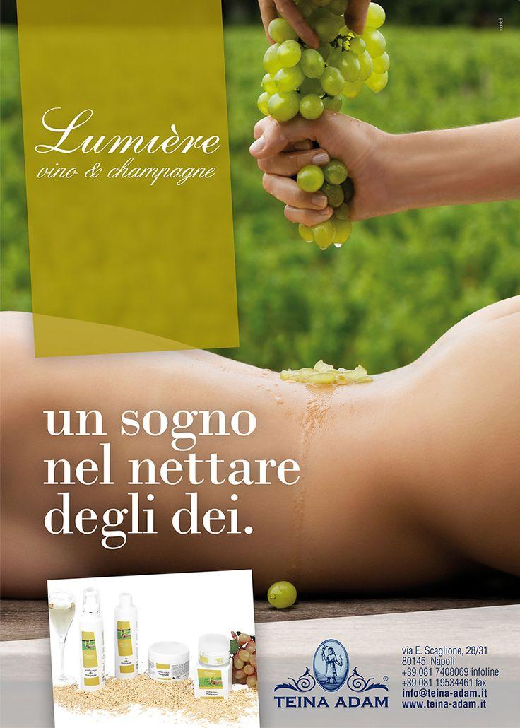 Lumière Champagne | un sogno nel nettare degli Dei. www.teina-adam.it