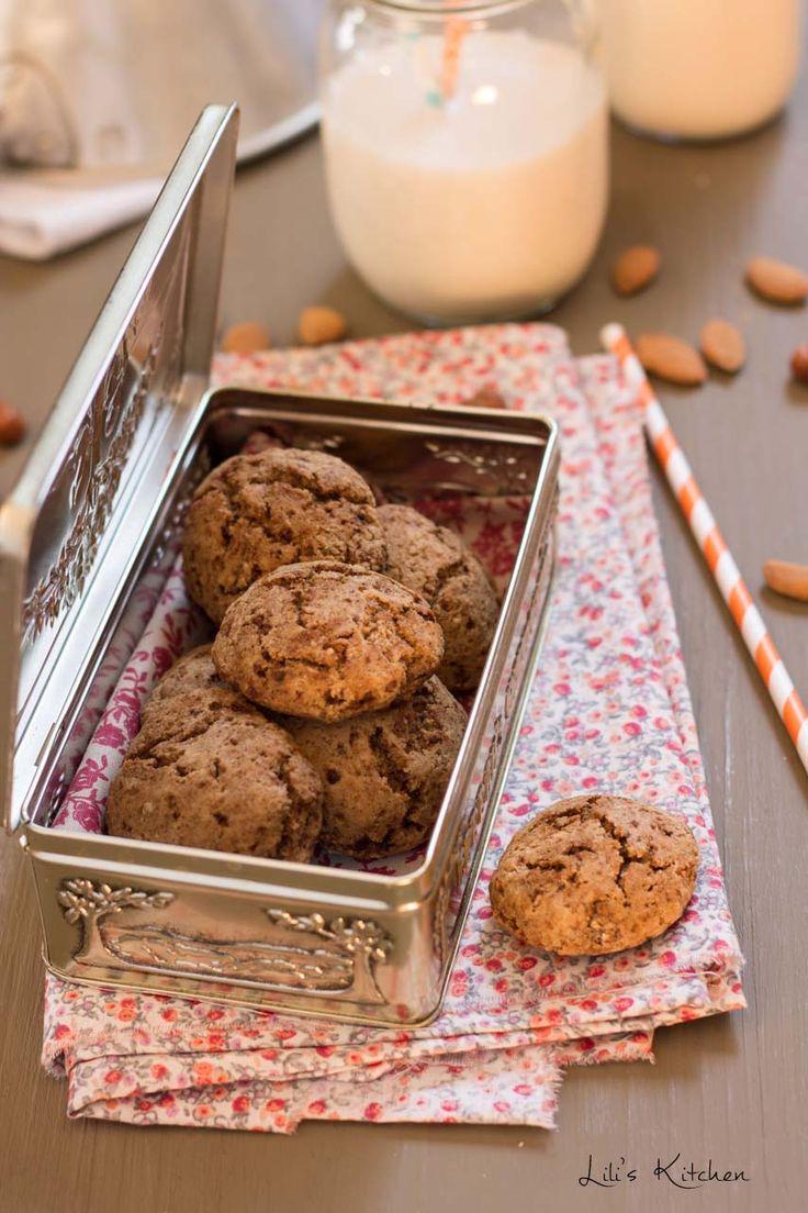Biscuit moelleux à l'okara d'amande et noisette