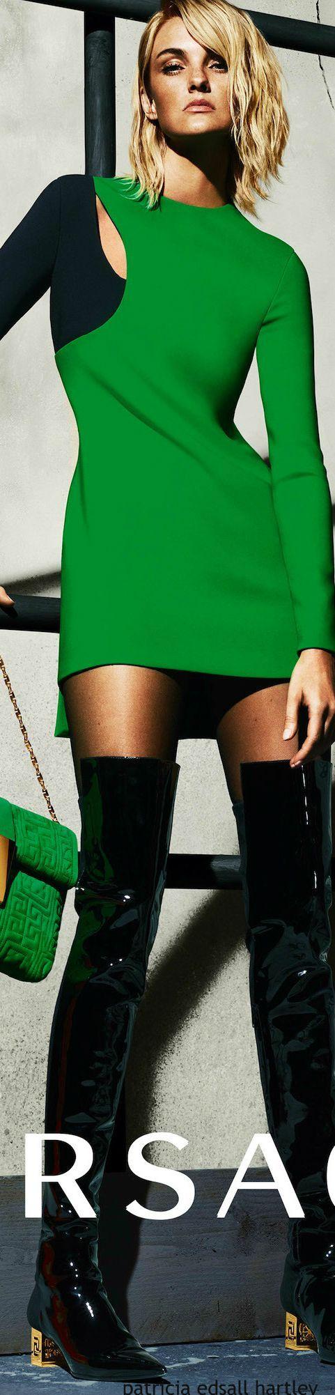 Versace 2015-16 Ad Campaign:
