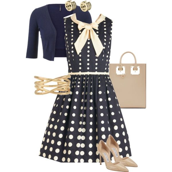 Preppy work outfit by mara-wink on Polyvore