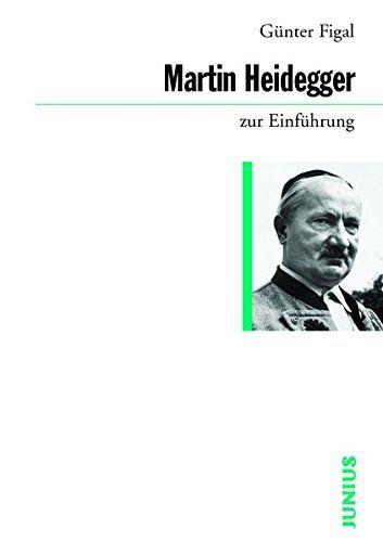 Martin Heidegger zur Einführung / Günter Figal