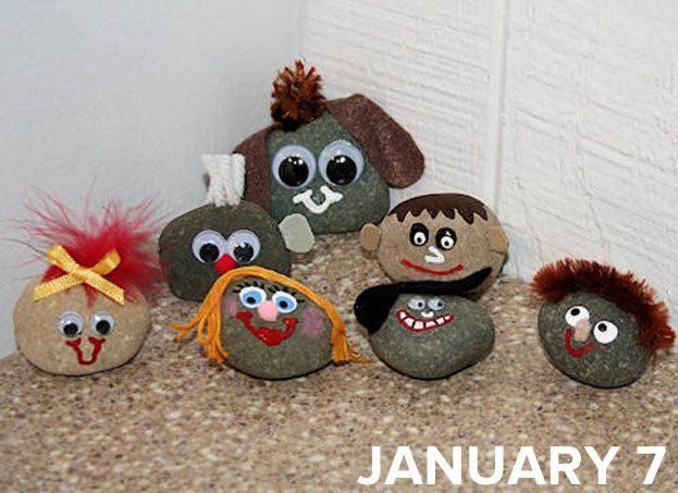 Old Rock Day | 11 Obscure Holidays You Should Remember To Celebrate...OK...finally a holiday for my rocks!