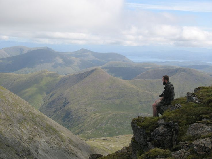 Top of Ben More - Isle of Mull  Hike from base to the summit of the mountain.