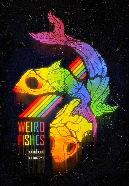 WEIRD FISHES Radiohead
