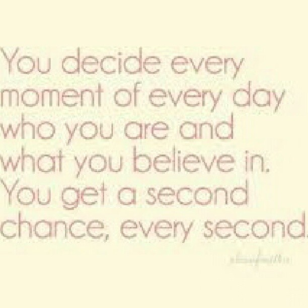 Every second ;)