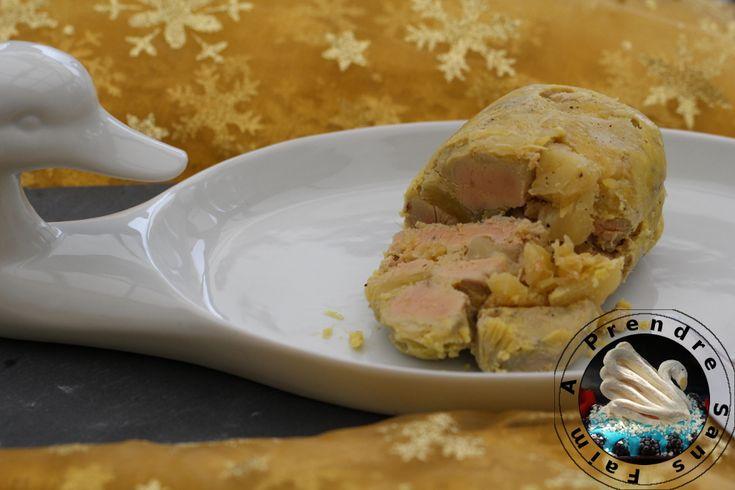 Foie gras mi-cuit à l'ananas de Cyril Lignac http://www.aprendresansfaim.com/2016/11/foie-gras-mi-cuit-lananas-de-cyril.html