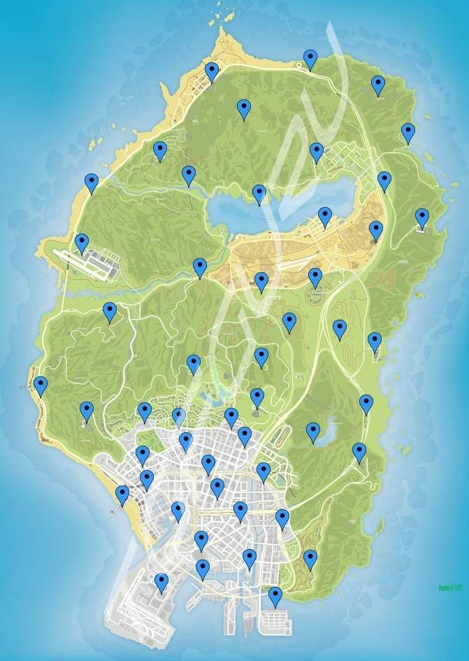 Gta V Letter Scraps Map : letter, scraps, Signal, Jammers, Locations, Online, Diamond, Casino, Heist), Online,