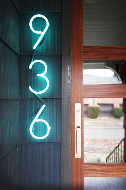 135 best images about House Address numbers on Pinterest Eichler