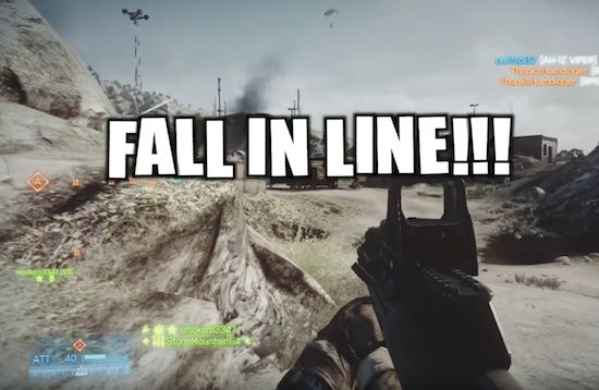 """""""AFFIRMATIVE, IN MY PARENTS BASEMENT"""" – TROLL DELIVERS EPIC MILITARY BANTER DURING BATTLEFIELD 3 ONLINE. SEE IY HERE: http://www.chaostrophic.com/affirmative-parents-basement-troll-delivers-epic-military-banter-battlefield-3-online/"""