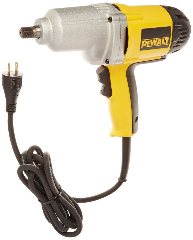 DEWALT DW292 7.5-Amp 1/2-Inch Impact Wrench with Detent Pin Anvil. The product is highly durable. The product is easy to use. Manufactured in China. 345 ft-lbs of deliverable torque in forward and reverse. 1/2-inch detent pin anvil. ac/DC forward/reverse rocking switch. Soft grip handle for increased comfort. Ball bearing construction for increased durability.