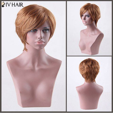 GET $50 NOW   Join RoseGal: Get YOUR $50 NOW!http://www.rosegal.com/human-hair-wigs/short-side-bang-straight-siv-827139.html?seid=4695937rg827139