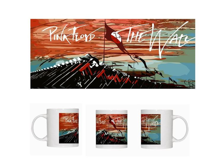 Pink Floyd (The Wall - Marching Hammers) - Ceramic Coffee Mug