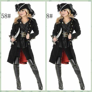 Высокое качество королева рыцарь хэллоуин девушку пиратские костюмы женщины сексуальный классический сомали пиратский косплей костюмы горячая распродажа H15221