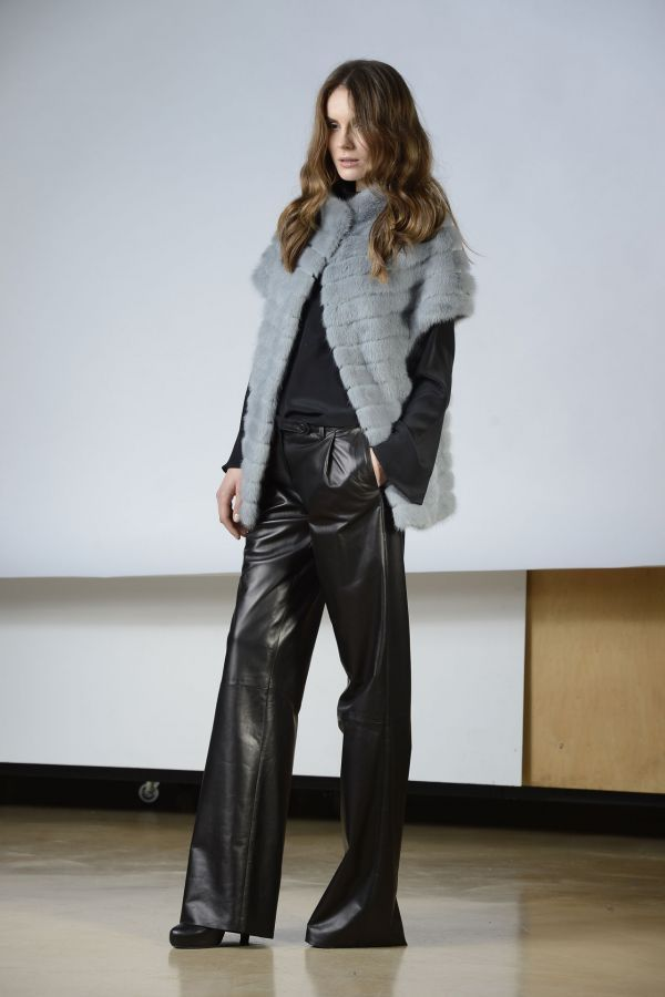 Boutique Online: pret a porter fur collection - TRACY BIS: Visone grigio perla | SimonettaRavizza.com