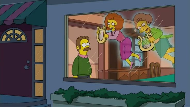Well, shit, I didn't expect to CRY at last night's Simpsons episode.