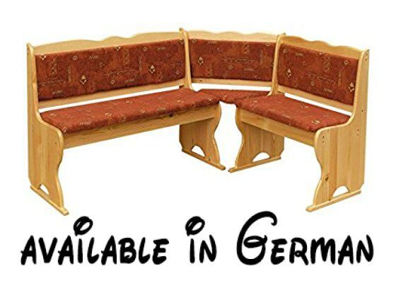 B01MU0ZBG8  Sitzbank Küche Breite 147 cm Länge 107 cm - küchenblock 260 cm