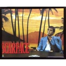 "CLEARANCE Scarface Framed Picture (S1) 10"" x 8"" CLEARANCE Scarface Framed Picture (S1) 10"" x 8"" - can be hung"