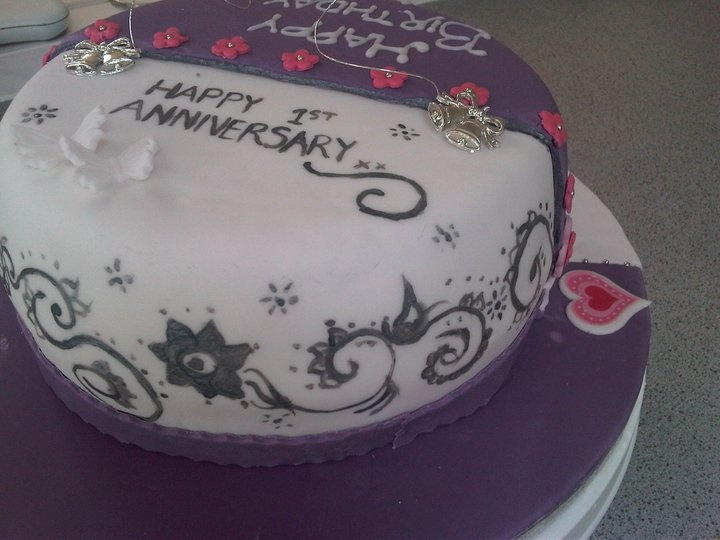 Cake Images For Anniversary : Pin by Ashvinder Bhamra on Cakes by Ash - 2011/2012 ...