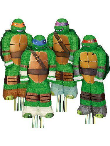 3D Ninja Turtles Pinata Assortment (Each) $14.38 (save $25.61)