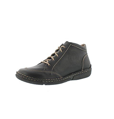 Josef Seibel Womens Neele 01 Lace Up Ankle Boot Black 39 M EU * Click image to review more details.