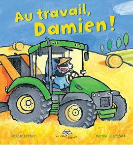Damien le chien travaille dans une ferme. De nombreuses tâches sont à accomplir afin d'en assurer le bon fonctionnement. Mais Damien ne peut pas les faire tout seul, il a besoin de son ami le tracteur. Au cours de la journée, les deux compagnons vont nourrir les vaches, creuser des sillons dans les champs, ramasser le blé et en faire des bottes. Quand une tempête se lève, un arbre se met au travers de leur route. Damien et son tracteur réussiront-ils à revenir à temps à la ferme?
