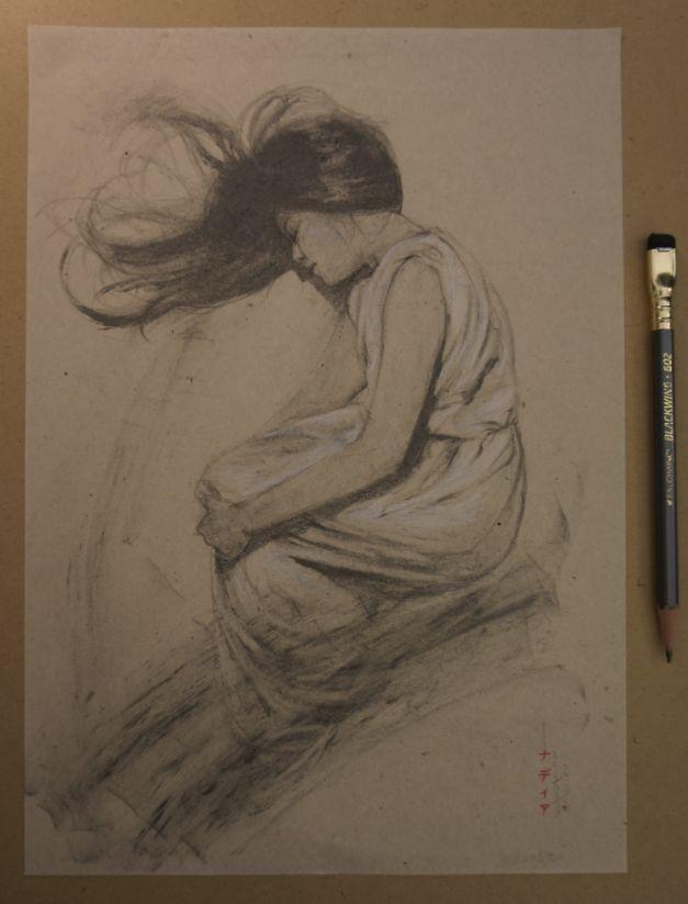 Nadia Mogilev's sketch