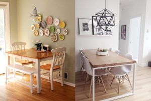 20 Inspiring Dining Room Tables For Small Spaces