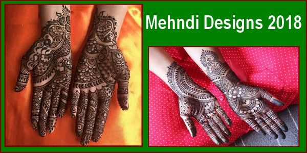 New Full Hand Mehndi Designs 2018