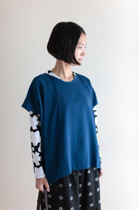 СУ СУ · одежда муслин Shikakukoromo в (квадрат) - падает чувство цвета точка, что было TRON.