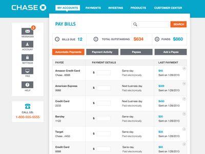 Chase - Website Mock • by Anke Mackenthun via Dribbble.com #clean #flatcolor #webdesign