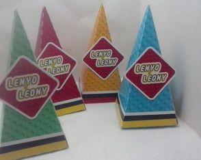 Caixa Cone LEGO MARVEL