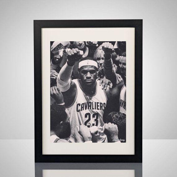 Legendary LeBron James Cleveland Cavaliers Black & by lgndrylabel